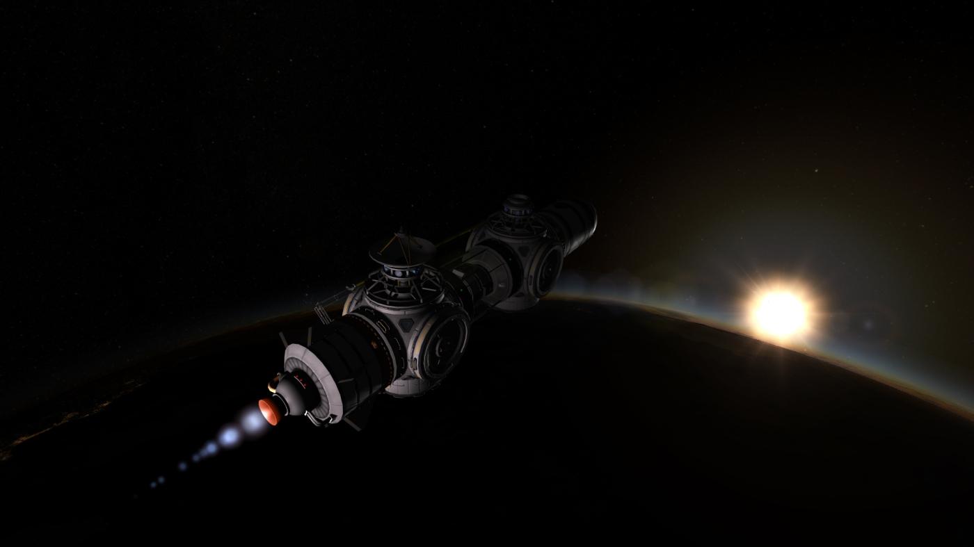 Getting the core into Orbit